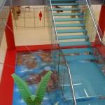 Falsa piscina decorativa lacada