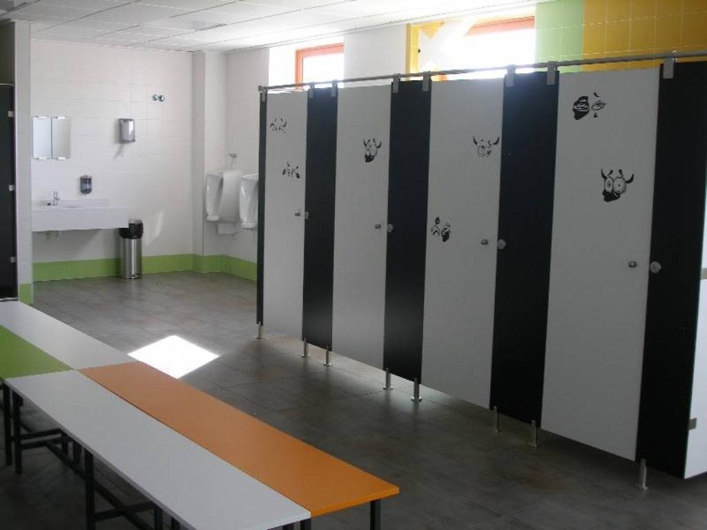 Baño-vestuario